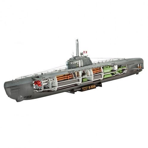 U-Boot Typ XXI U 2540 &Interieur