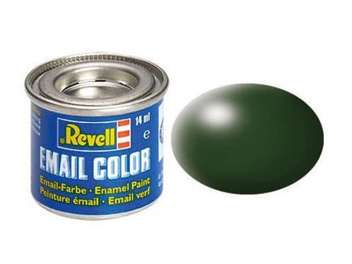 Email Color Dunkelgrün, seidenmatt, 14ml, RAL 6020