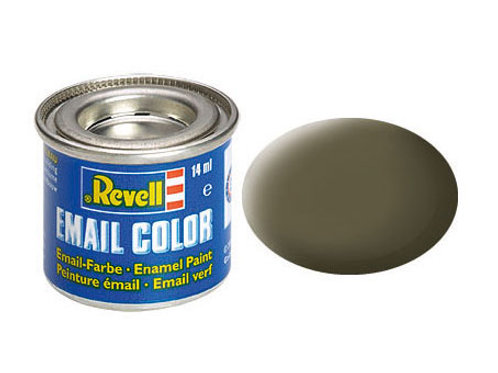Email Color NATO-Oliv, matt, 14ml, RAL 7013