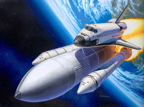 Geschenkset Space Shuttle& Booster Rockets, 40th.