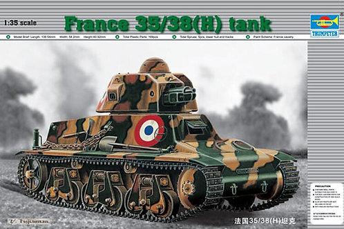 1/35 Panzerkampfwagen H-39 SA 18 France