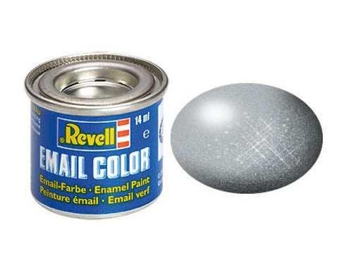 Email Color Silber, metallic, 14ml