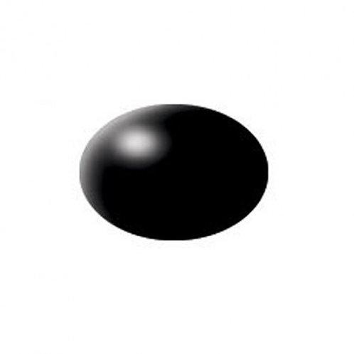Aqua Color Schwarz, seidenmatt, 18ml, RAL 9005
