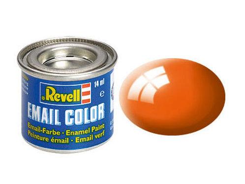 Email Color Orange, glänzend, 14ml, RAL 2004