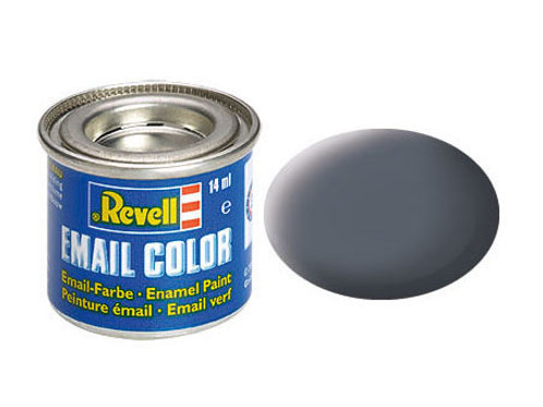 Email Color Staubgrau, matt, 14ml, RAL 7012