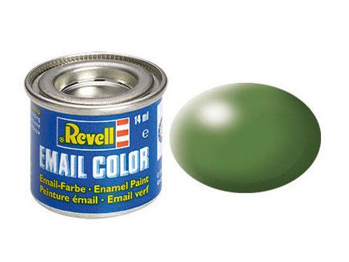 Email Color Farngrün, seidenmatt, 14ml, RAL 6025