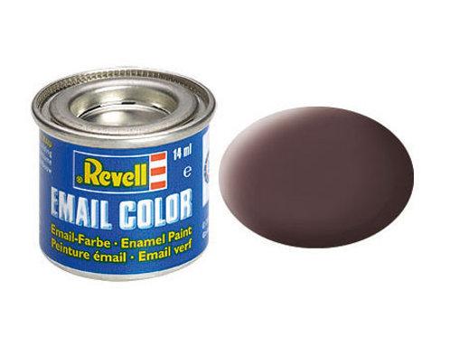 Email Color Lederbraun, matt, 14ml, RAL 8027