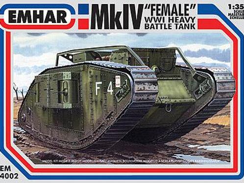 1/35 WWI Mk.IV Female