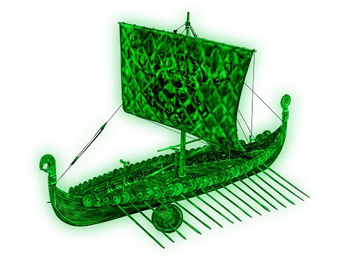 Viking Ghost Ship - Set