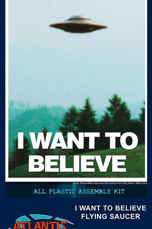 UFO I wan't believe it, Billy Meier, mit Licht