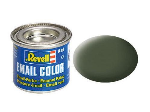Email Color Bronzegrün, matt, 14ml, RAL 6031