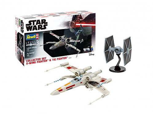 Collector Set X-Wing Fighter + TIE Fighter