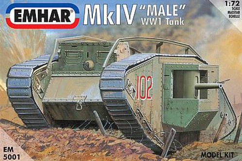 1/72 WWI Mk.IV Male