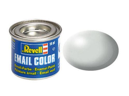 Email Color Hellgrau, seidenmatt, 14ml, RAL 7025