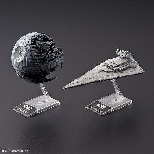 Death Star II + Imperial Star Destroyer - Bandai