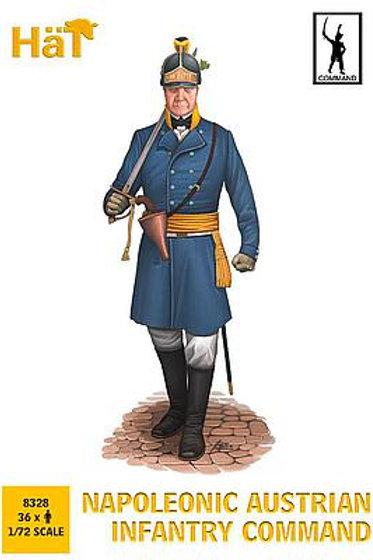 1/72 Österreichische Infanterie, Kommando
