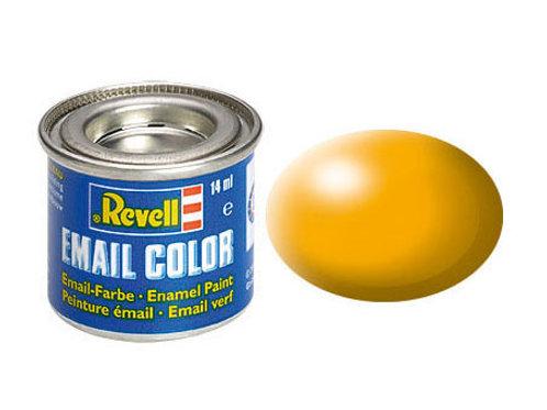 Email Color Lufthansa-Gelb, seidenmatt, 14ml, RAL 1028