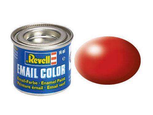 Email Color Feuerrot, seidenmatt, 14ml, RAL 3000