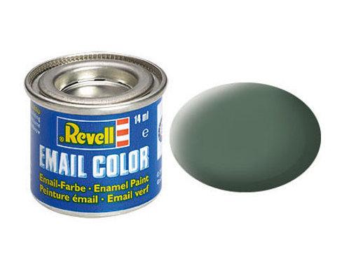 Email Color Grüngrau, matt, 14ml, RAL 7009