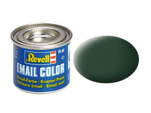 Email Color Dunkelgrün (RAF), matt, 14ml