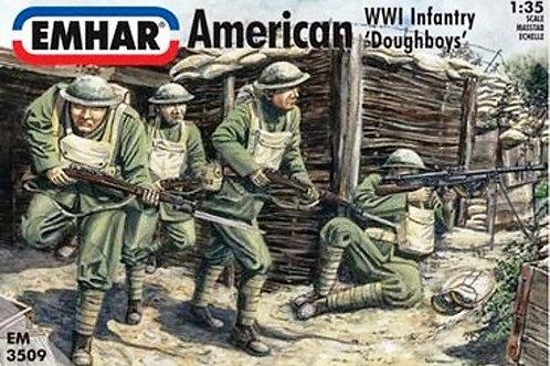1/35 WWI Amerikanische Infanterie, Doughboys