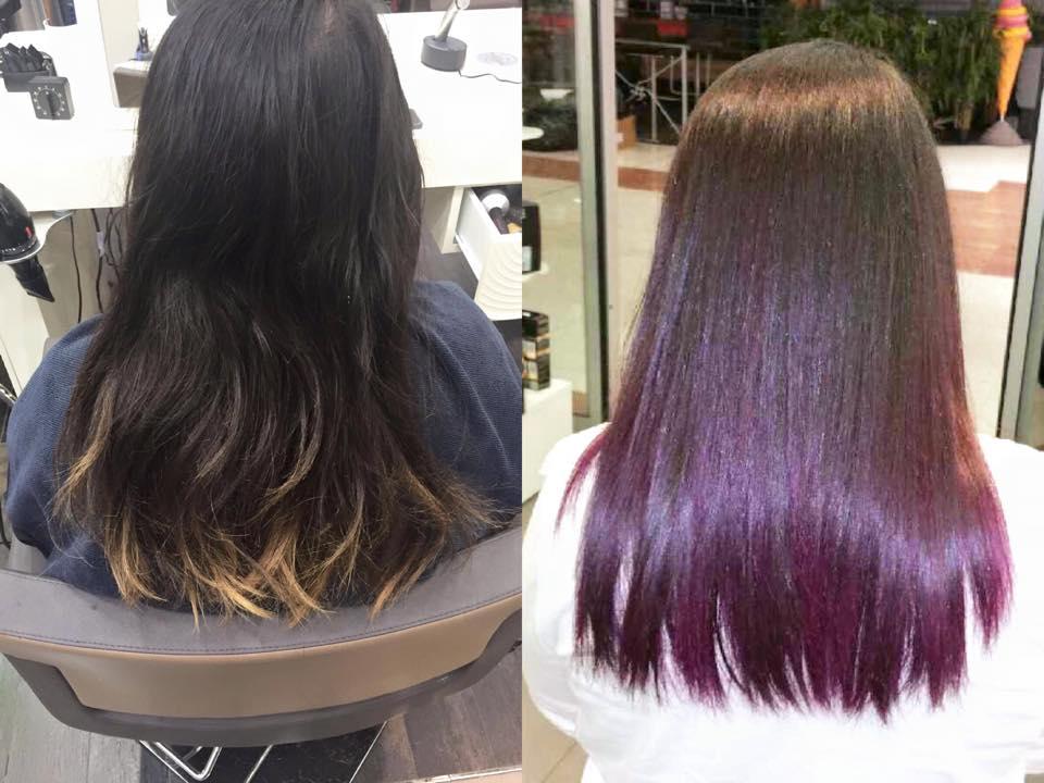Allegrini Coiffure violet