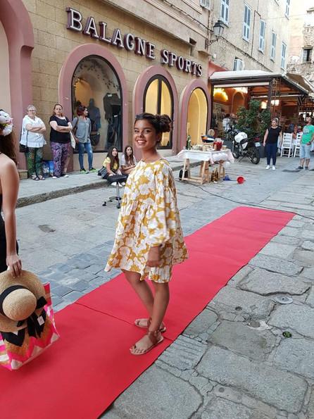 Défilé de mode Ile Rousse - Corse