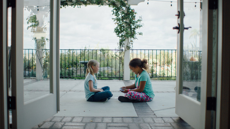 Morgan Marlow and Leilani Coleman in White Wings (2018).