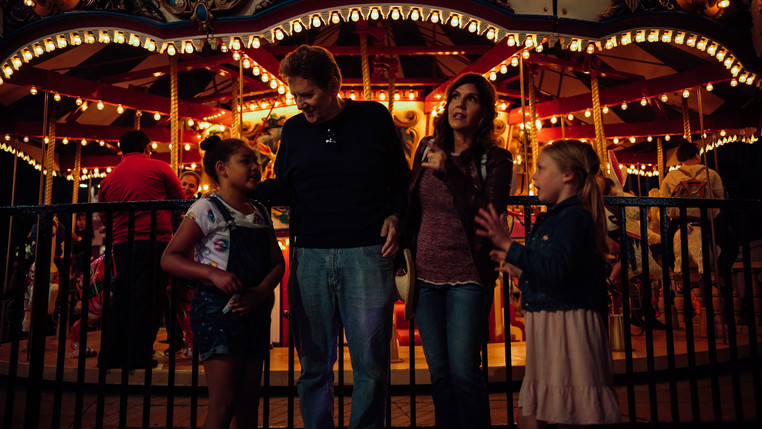 Leilani Coleman, Larry Knight, Lizet Benrey, and Morgan Marlow in White Wings (2018).