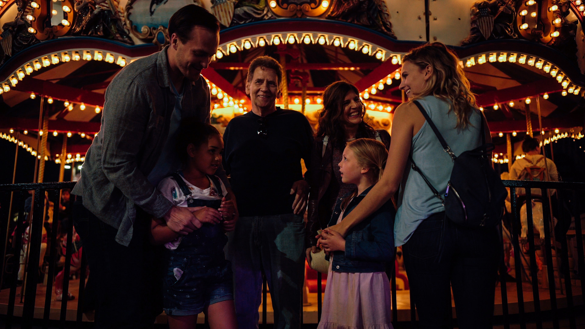 Josh George, Leilani Coleman, Larry Knight, Lizet Benrey, Morgan Marlow, and Nicole Dubois in White Wings (2018).