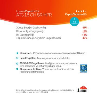 ATC15 - ATC 15 CH SR HPR Esprit Charcoal