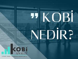 Kobi tanımı, Kobi kimdir? Kobi nedir? Kimler Kobi'dir?