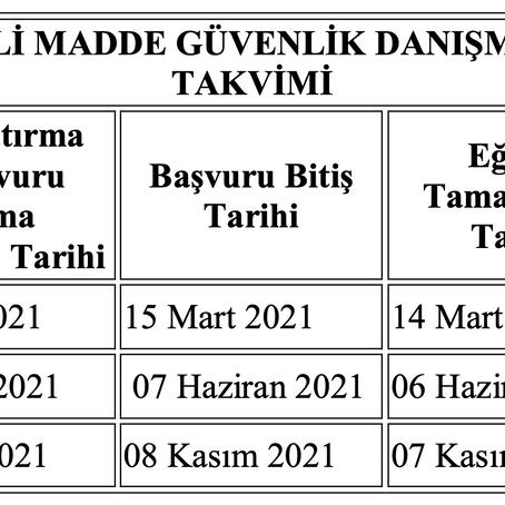 2021 TMGD Sınav Takvimi Açıklandı mı?