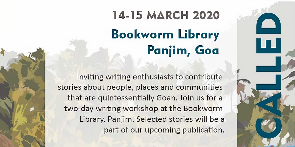 People Called Goa | 2 Day Writer's Workshop