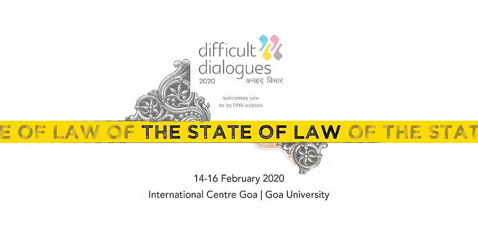 Difficult Dialogues 2020