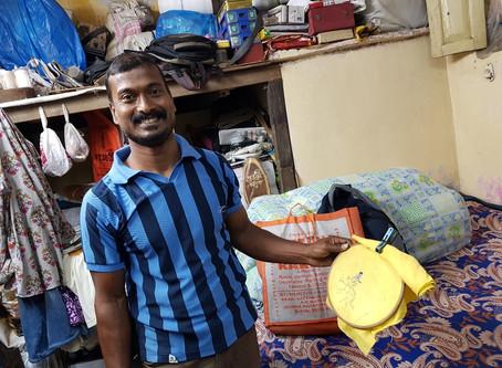 Visiting Bapi Das in Kolkata