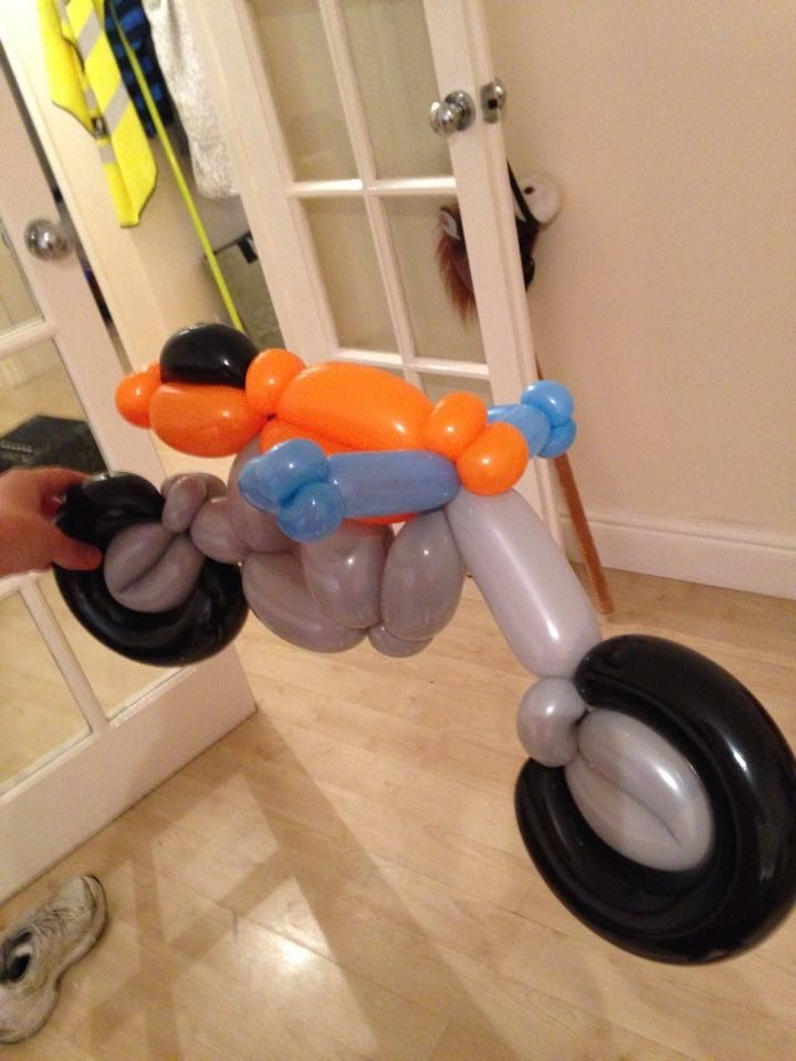 Balloon Model car for party