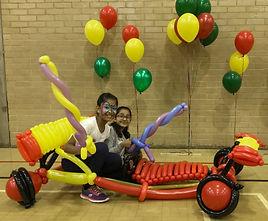 Balloon Modelling Car Childrens birthday party Surrey