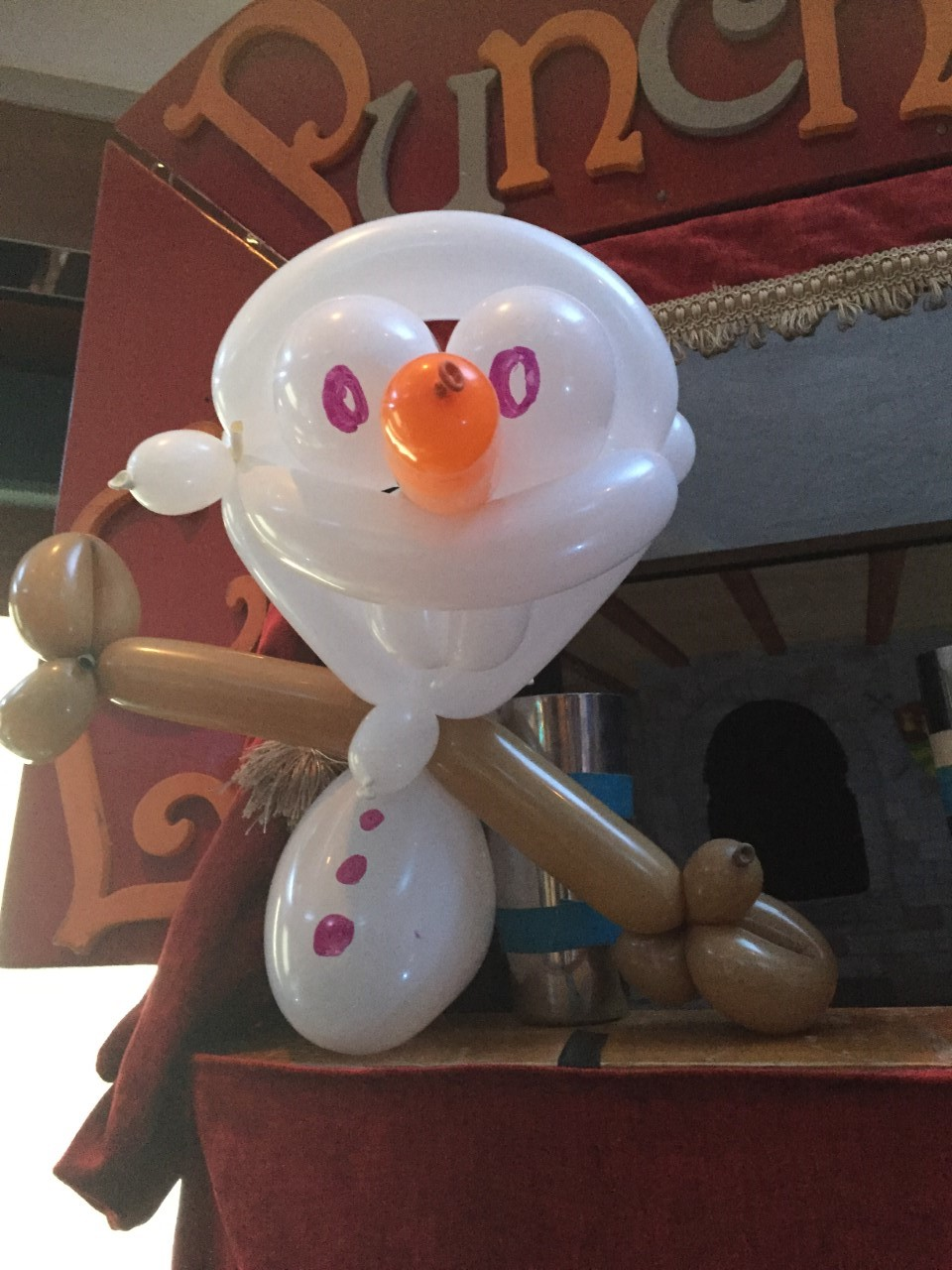Olaf Frozen Balloon Model