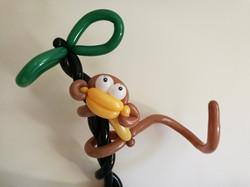 Balloon Model Monkey