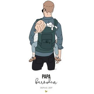 Papa baroudeur