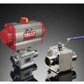 Series HP and H78 High Purity 3-Piece Ball Valves