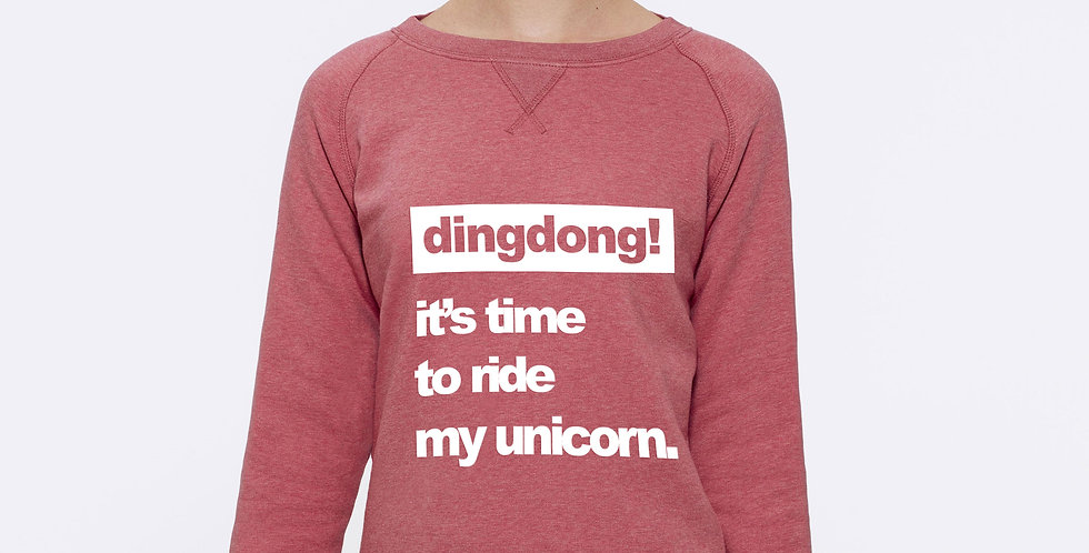It's time to ride my unicorn