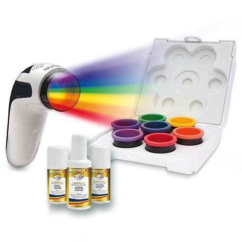kleurtherapie set voor Bioptron Medall
