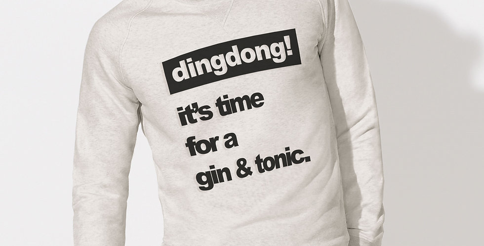 It's time for a gin & tonic