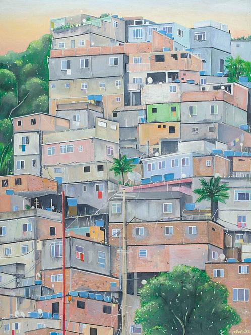 Favelas Fine Art Print