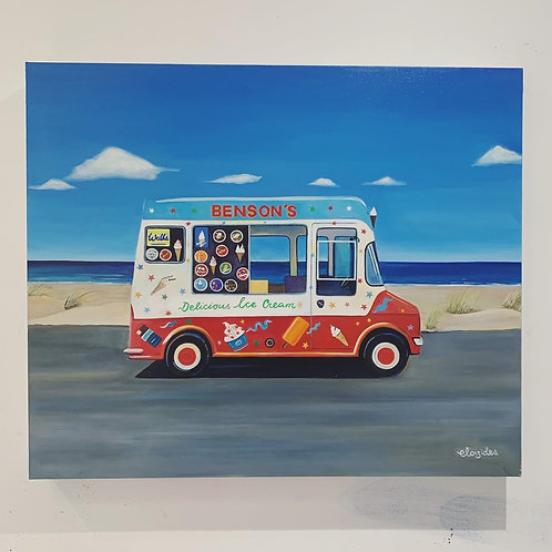 Benson's Ice Cream Van