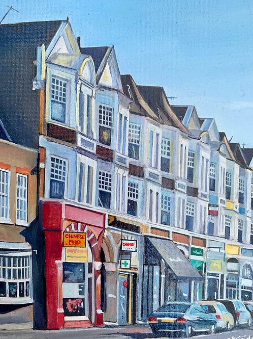 Muswell Hill, Original Oil Painting