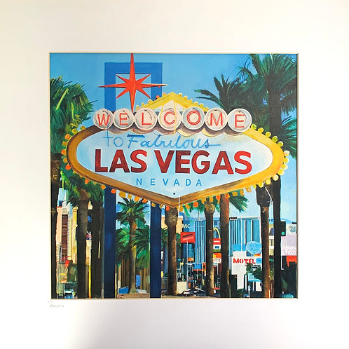 Welcome to Las Vegas - Fine Art Print