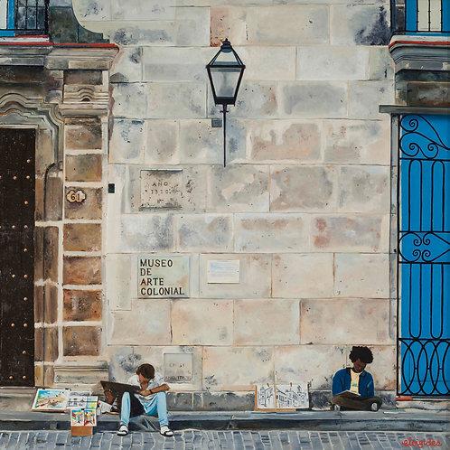 Museo d'arte Havana Fine Art Print
